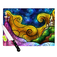 "Mandie Manzano ""Starry Lights"" Cutting Board"