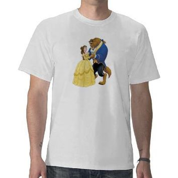 Belle and the Beast Disney T-shirts