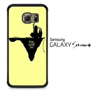 Gorillaz feel good cover A1523 Samsung Galaxy S6 Edge Plus Case