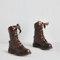 March in Pep Boot in Herringbone by Dr. Martens from ModCloth