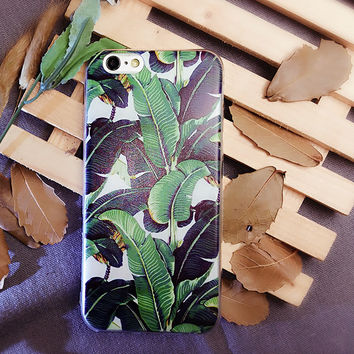 Creative Leaves Cute Case for iPhone