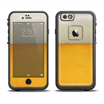 The Cold Beer Apple iPhone 6 LifeProof Fre Case Skin Set