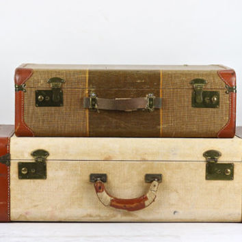 Suitcase, Suitcase Luggage, Stack of Two Suitcases, Suitcase, Old Suitcase Stack, Vintage Suitcase, Stacked Suitcases, Suitcases
