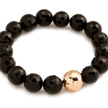Gorjana Black Onyx Protection Power Gemstone Statement Bracelet