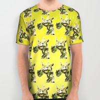Jasmine Unicorn All Over Print Shirt by That's So Unicorny