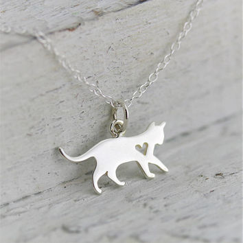 Cat Jewelry Necklace, Pet Sympathy Gift Cat Lover Gifts Women, Animal Necklace Cat Memorial Necklace, Loss of Pet Jewelry, Veterinarian Gift