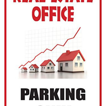 "Real Estate Office 12""X18"" Business Retail Store Parking Signs"
