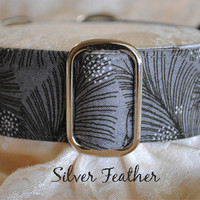 """Silver Feather"" from CollarMyHeart"