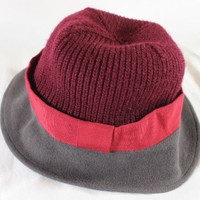 ~~~ TOTAL OUTFIT BUMP!! ~~~ MARC JACOBS TRI-COLOR KNIT WOOL CLOCHE HAT ~~ M