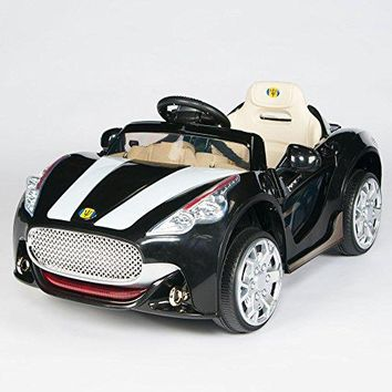 Maserati Style 12V Kids Ride On Car Electric Power Wheels Remote Control Black