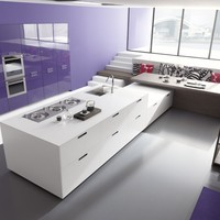 Custom fitted kitchen LINEA Young Young Collection by Comprex | design MARCONATO & ZAPPA ARCHITETTI ASSOCIATI