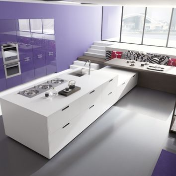 Custom fitted kitchen LINEA Young Young Collection by Comprex   design MARCONATO & ZAPPA ARCHITETTI ASSOCIATI