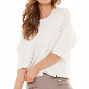 Soothe Pullover - Eggshell