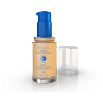 Walmart: COVERGIRL Outlast Stay Fabulous 3 in 1 Foundation + Ensulizole Sunscreen SPF 20