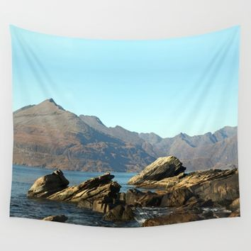 The gentle indifference of the world Wall Tapestry by anipani