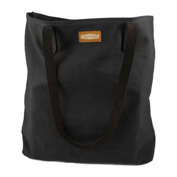 CANVAS TOTE | Charcoal