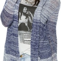 O'NEILL LAKEVIEW OPEN CARDI SWEATER