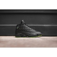 Nike Air Jordan 13 Black / Green | Best Deal Online