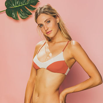 BILLABONG Color Blox Bikini Top | 2018 Swim Preview