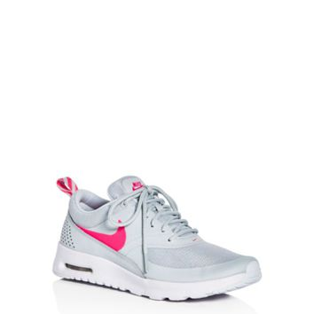 Nike Girls' Air Max Thea Lace Up Sneakers - Big Kid | Bloomingdales's