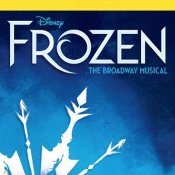Frozen The Musical Limited Edition Opening Night Playbill
