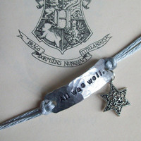 ALL WAS WELL Harry Potterinspired handstamped by suzyandleo