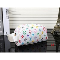 LV Women Fashion makeup bag Cosmetic bag Zipper Satchel H-YJBD-2H Tagre™