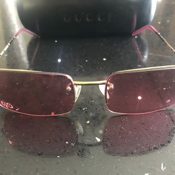 GUCCI CLASSIC WOMENS SUNGLASSES - AUTHENTIC