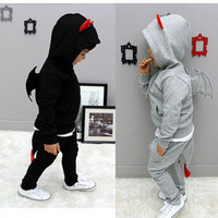 New 2016 children hoodies clothing set kids pant + coat boys clothes child tracksuits baby outfits wear free shipping-in Clothing Sets from Mother & Kids on Aliexpress.com | Alibaba Group