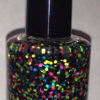 Crash My Party - Handmade Multicolored Glitter Nail Polish