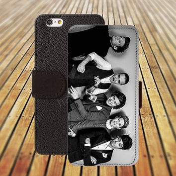 iphone 5 5s case college One Direction iphone 4/4s iPhone 6 6 Plus iphone 5C Wallet Case,iPhone 5 Case,Cover,Cases colorful pattern L321