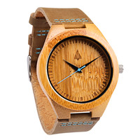 Wooden Watch // Frank Blue