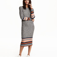 H&M Rib-knit Dress $49.99