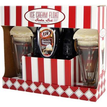 A&W Root Beer Ice Cream Float Soda Set, 5 pc - Walmart.com