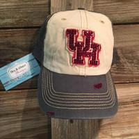 Custom Bling University of Houston Hat