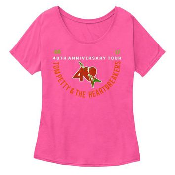 TOM PETTY AND THE HEARTBREAKERS 40TH TEE