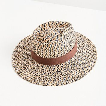 Brixton Joanna Straw Wide-Brim Fedora | Urban Outfitters
