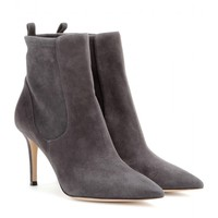 gianvito rossi - bennett suede ankle boots
