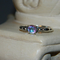 Mercury mist promise ring