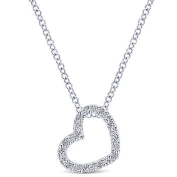 Gabriel Diamond Heart Pendant