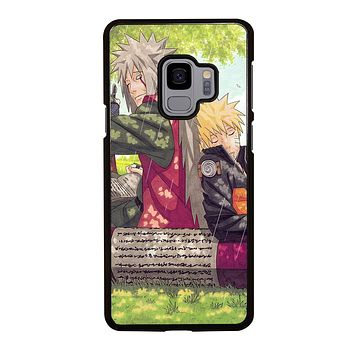 JIRAIYA AND NARUTO Samsung Galaxy S9 Case Cover