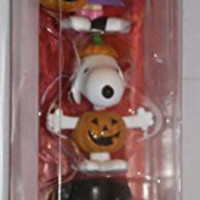 Peanuts Lucy Snoopy and Charlie Brown Halloween Figures
