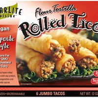 Starlite Cuisine Meatless Tacos Chipotle Chicken-style (cold)