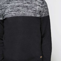 Crew Neck Mix Jumper