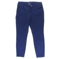 Style & Co. Womens Petites Colored Curvy Skinny Jeans