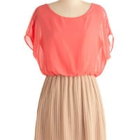 Love Me Duo Dress in Peaches and Cream
