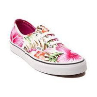 Vans Authentic(Hawaiian Floral)White