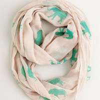 ModCloth Pachyderm a Punch Circle Scarf