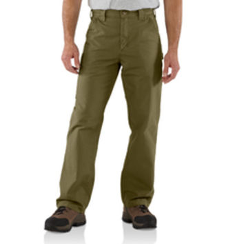 Carhartt Men's 7.5 oz. Army Green Canvas Work Pant