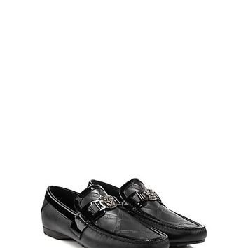 Versace - Greca Embossed Driver Shoes